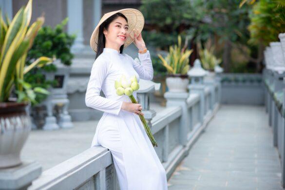 áo dài trắng